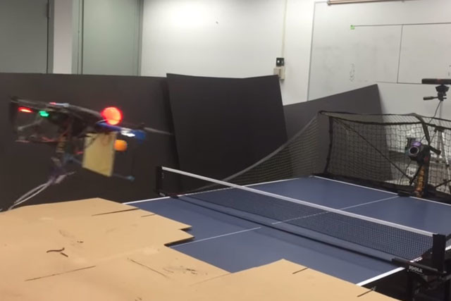 drone ping pong
