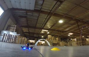 course drone hangar