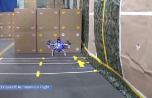 drone autonome darpa