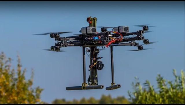 drone russe bazooka