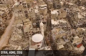 homs syrie drone